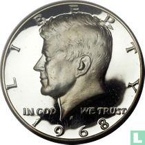 Vereinigte Staaten ½ Dollar 1968 (PP - S)