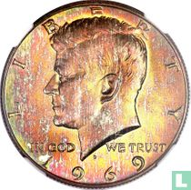Vereinigte Staaten ½ Dollar 1969 (D)