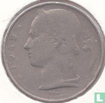 België 5 francs 1949 (FRA - muntslag)