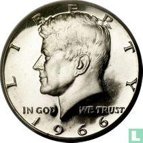 Vereinigte Staaten ½ Dollar 1966