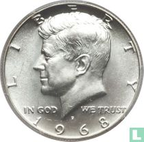 Vereinigte Staaten ½ Dollar 1968 (D)