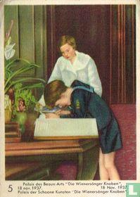 "Paleis der Schoone kunsten ""Die Wienersänger Knaben"" 18 Nov 1937"