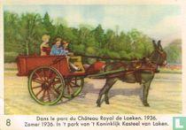 Zomer 1936. In 't park van 't Koninklijk Kasteel van Laken