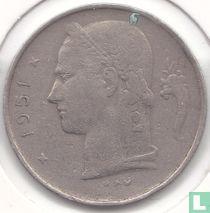 België 1 franc 1951 (NLD)