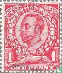 George V-Kaiser Krone Wasserzeichen