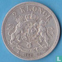 Zweden 2 kronor 1898