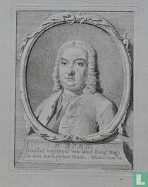 P. BORN, Consul Generaal van haar Hoog Mog: in den Kerkelyken Staat. Aetatis Suae 64.