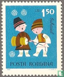 New Year Stamps