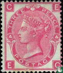 Koningin Victoria- Grote letters