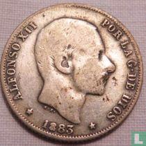 Filipijnen 20 centimos de peso 1883
