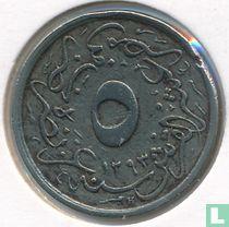 Ägypten 5/10 Qirsh 1907 (Jahr 1293 - 33)