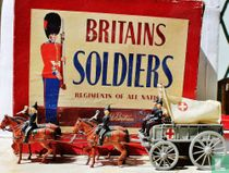 Royal Army Medical Corps. Ambulance Wagon