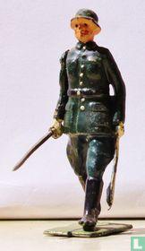 German Infantry Service dress, Officer