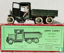 Army Lorry 6 wheel with tipping body