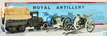 Caterpillar covered lorry with Royal Artillery Gun