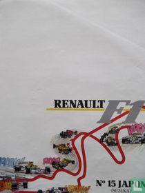 Renault F1, N°15 Japon Suzuka