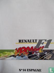 Renault F1, N°14 Espagne Jerez