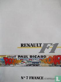 Renault F1, N°7 France Castelet