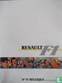 Renault F1, N°11 Belgique Spa-Francorchamps