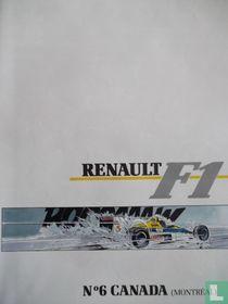 Renault F1, N°6 Canada Montréal