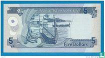 Salomonseilanden 5 dollar 1994