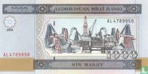 Azerbeidzjan 1000 Manat 2001