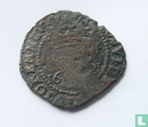 Ierland 1 penny 1601(MM Ster)