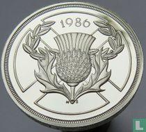 """Verenigd Koninkrijk 2 pounds 1986 (PROOF - zilver) """"Commonwealth Games in Edinburgh"""""""