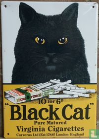 """""""Black Cat"""" Virginia Cigarettes"""