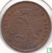 België 2 centimes 1912 (FRA)