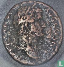 Romeinse Rijk, AE As, 117-138 AD, Hadrianus, Rome, 134-138 AD