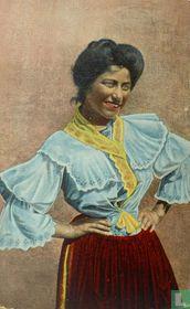 Costumi Napoletani. Italiaanse Klederdracht