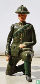 Gun Detachement Kneeling gunner set 1730
