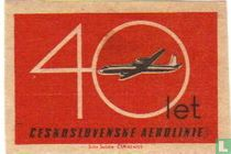 40 Let Ceskoslovenske aerolinie