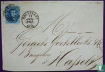Bruxelles - 1858 - Bruxelles Hasselt - Leopold I