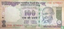 India 100 Rupees 2012 (F)