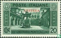 Monte Cassino, met opdruk