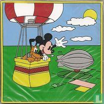 Mickey + Pluto