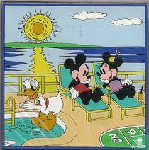 Mickey + Minnie + Donald Duck
