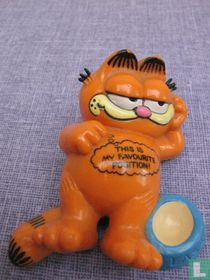 "Garfield ""This is my favorite position\"""