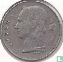 België 1 franc 1959 (NLD)