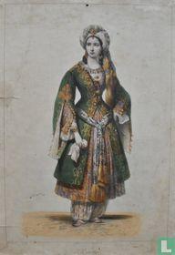 Rachel. Costume de Roxanne dans Bajaret