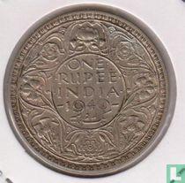 Brits- Indië 1 rupee 1940