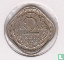 Brits-Indië 2 annas 1939