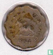 India 1 anna 1954
