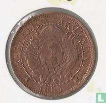 Argentina 2 centavos 1883