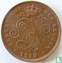 België 2 centimes 1919/14 (FRA)