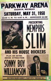 Parkway arena  presents memphis slim amd soony boy williamson