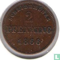 Beieren 2 pfenning 1866
