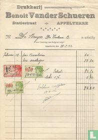 Appelterre, firma Benoit Vander Schueren